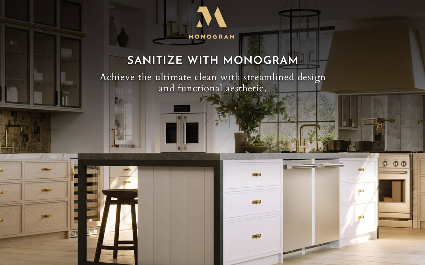 Sanitize with Monogram Appliances